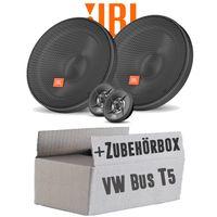 Lautsprecher Boxen JBL 16,5cm System Auto Einbausatz - Einbauset für VW Bus T5 Front - justSOUND