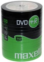 Maxell DVD+R 100 Pack, Spindel