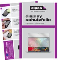 2x Apple MacBook Pro 13 Zoll (2020) Schutzfolie klar Displayschutzfolie Folie
