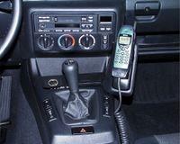 Haweko Telefonkonsole Für Bmw E36 Compact, Bj. 94-00 Leder, Schwarz