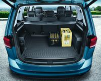 Gepäckraumeinlage Kofferraummatte Einlage Original VW Touran 5QA061160 5/7 Sitze