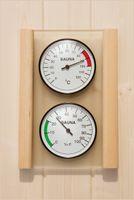 WEKA Set Hygrometer und Thermometer, 500.0103.10.00
