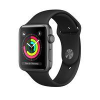 Apple Watch Series 3, OLED, Touchscreen, 8 GB, WLAN, GPS, 32,3 g
