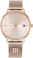 Tommy Hilfiger Damen Analog Bronze/roségold Edelstahl Armbanduhr   1782287