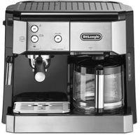 DeLonghi BCO421.S Kombi-Kaffeemaschine, Farbe: Schwarz
