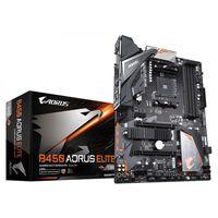 Gigabyte B450 AORUS ELITE - AMD - Buchse AM4 - AMD Ryzen - DDR4-SDRAM - DIMM - 2133,2400,2667,2933 MHz
