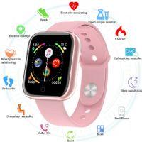 Smartwatch IP67 Wasserdicht Bluetooth Smartwatch Sport Armband Uhr Multifunktional Uhr für Android IOS