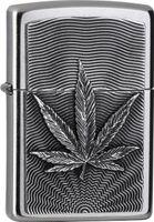 Zippo Feuerzeug Leaf Emblem