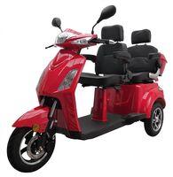 Elektromobil VITA CARE 2000 Li, Seniorenmobil Senioren-Scooter mit Straßenzulassung E-Scooter E-Roller Produktvideo, Rot