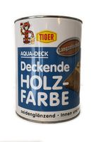 TIGER AQUA-DECK Holzfarbe Seidengläzend Weiß 2,5 L