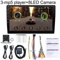 7 Zoll Bluetooth FM Radio WiFi Telefon Spiegel Link Auto Reverse Image MP5 Player - mit 8-LED-Rückfahrkamera