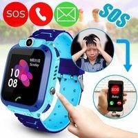 Wasserdichte Kinder Smartwatch 2G/3G Telefon Uhr Handy Tracker SOS Voice Chat Kamera