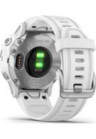 Garmin Fenix 6S Smartwatch Sportuhr Fitness GPS-Multisport Herzfrequenz Robust, Farbe:Weiß-Silber