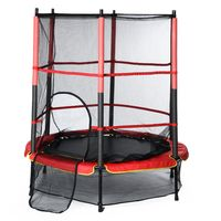 CAMTOA Trampolin Kindertrampolin Gartentrampolin Indoortrampolin Jumper  Mit Sicherheitsnetz Kinder Fitness