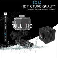 Mini-Kamera SQ12 1080P Infrarot-Nacht-Videorecorder Sport Digitalkamera Unterstützung TF-Karte Camcorder DVR