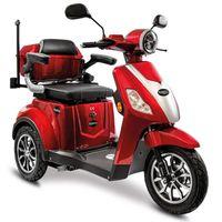 Rolektro, E-Trike 15 V.3 Lithium, Rot, 60-30AH Akku, 1000 Watt