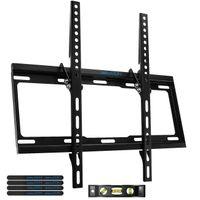 "deleyCON Universal TV Wandhalterung - 32"" - 55"" Zoll (81-140cm) - bis 14° Neigbar - Belastbar bis 35Kg - bis VESA 400x400mm - Wandabstand 25mm - TV LCD LED OLED"