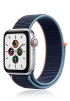 Apple Watch SE GPS + Cell 40mm Silver Alu  Navy Sport Loop