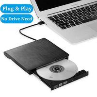 USB 3.0 Externes DVD Laufwerk DVD RW CD Brenner Brenner Reader Player Für Laptop-PC