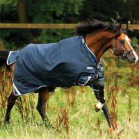 Horseware Rambo Duo (100g + 300g) - navy/baby blue brown, Größe:145