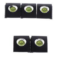 5x Blitzschuhabdeckung Schutzkappe Ersatz-Hot-Shoe-Abdeckung Wasserwaage für Canon DSLR Kamera