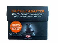 Kapsel Adapter, Kapselhalter, Kapseladapter für jede Nescafé Dolce Gusto Maschine