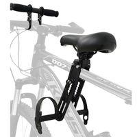 Fahrradkindersitze Set-  Fahrrad Vorne+Kindersitz, Abnehmbar Fahrrad-Vordersitz Kindersitz Fahrradsitz Kinderfahrradsitz für Mountainbikes, vorne montierte Fahrradsitze