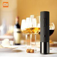 Xiaomi Mijia Huohou Automatische Wein Flaschenoeffner Kit 20-24mm Weinkorken Elektrische Korkenzieher Mit Folienschneider Fuer Xiaomi Mi Smart Home Kits