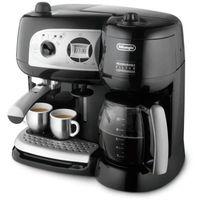 De'Longhi BCO 264.B, Kombi-Kaffeemaschine, 1,3 l, Gemahlener Kaffee, 1750 W, Schwarz, Silber, Edelstahl