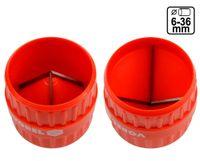 Innen- und Außen Entgrater Rohrentgrater Sanitär Werkzeug 6 - 36 mm