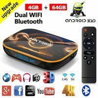 Smart TV Box Android 10.0 4+64G Dual WIFI Bluetooth HDMI2.0 USB3.0 Media Player