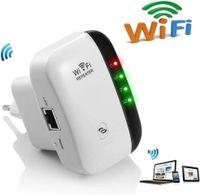 WLAN Verstaerker WiFi Repeater Range Extender verstärker 300Mbps Multifunktion Mini Wireless W-LAN Signal Booster Wireless Access Point 2.4GHz