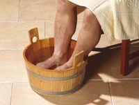 WEKA Fußkübel aus Fichtenholz, 500.0159.10.00
