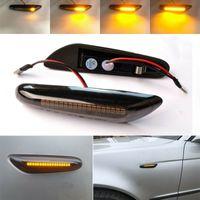 2x Dynamische Blinkleuchte für BMW E46 E60 E82 E92 E93 E87 LED Blinker Seitenblinker
