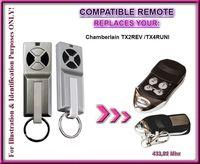 Chamberlain tx2rev/Chamberlain TX4RUNI/TX4-kompatible Fernbedienung, die  Ersatz-Fernbedienung