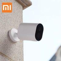 [Globale Version] Xiaomi IMILAB EC2 Xiaobai Batterieversion Smart IP Kamera 1080P 8 LED IP66 Wasserdichter drahtloser Außenmonitor CCTV von Xiaomi Eco-System - Gateway + 4 * Kamera