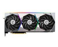 MSI GeForce RTX 3080 SUPRIM X 10G, GeForce RTX 3080, 16 GB, GDDR6X, 320 Bit, 7680 x 4320 Pixel, PCI Express x16 4.0