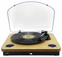 Plattenspieler mit Lautsprechern, Bluetooth und MP3 Digitalisierung Denver VPL-210 WOOD