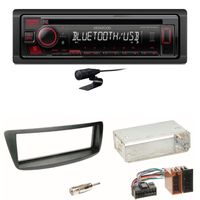 Kenwood KDC-BT440U Bluetooth USB CD Einbauset Toyota Aygo Citroen C1 Peugeot 107