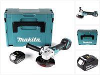 Makita DGA 511 T1J Akku Winkelschleifer 18V 125mm Brushless + 1x Akku 5,0Ah + Makpac - ohne Ladegerät