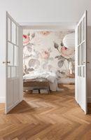 """Komar Vlies Fototapete """"La Maison"""", rose /grau, 368 x 248 cm"""