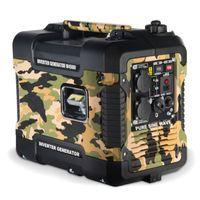 Böhmer-AG W4500i - 1,9 KW Inverter Benzin Stromerzeuger Quiet Eco Mode - Ausgang für EU Stecker, tragbar und ideal für Camping