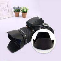 1BC6 Gegenlichtblende fš¹r Nikon D3300 D5300 D5500 AF-P 18-55 mm 1: 3,5-5,6 G VR als HB-N106