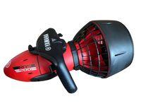 YAMAHA Seascooter RDS 200 Unterwasserscooter für Taucher und Schnorchler, Rot/Schwarz