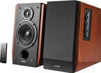 Edifier R1700BT Bluetooth-Lautsprechersystem, 66 Watt RMS, Regallautsprecher, Holzfarbe