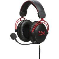 Kingston HyperX Cloud Alpha Pro Gaming Headset, schwarz/rot