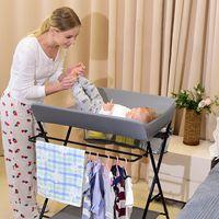 Wickeltisch Wickelauflage Mulde Kommode Unterlage Wickeln Baby Kind klappbar