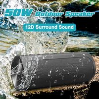INSMA Lautsprecher Soundbox Musikbox Soundstation bluetooth Wasserdicht Tragbar Stereo Outdoor