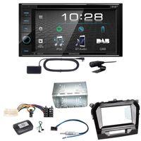 Kenwood DDX-4019DAB DAB+ DVD Moniceiver Autoradio Einbauset für Suzuki Vitara LY