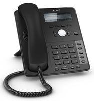 Snom D715 Telefon, Rufnummernanzeige, Freisprechfunktion, Ethernet, USB-Anschluss